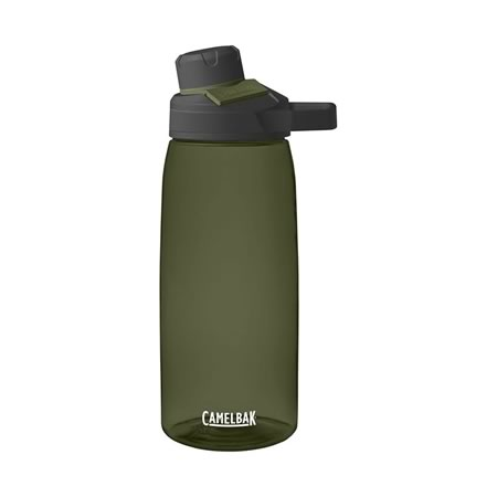 Chute Mag 1L Hydration Drink Bottle - Olive
