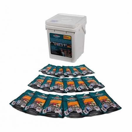 Cuisine Emergency Bucket 18 x Long Life Freeze Dried Meals
