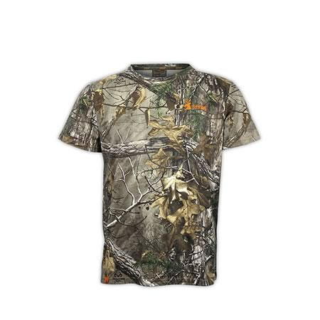 Hunting Trail Realtree Camo Cotton s/s Camo T-Shirt H-100 - Small to 5XL