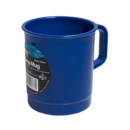 Blue Camp Mug 550ml