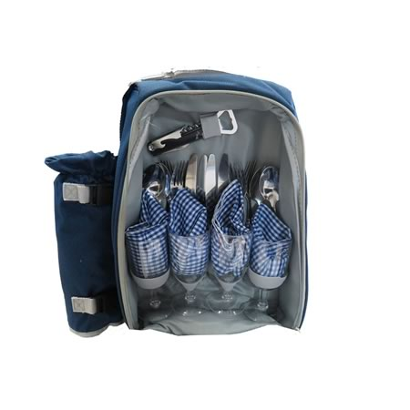 23 Piece Backpack Picnic Set