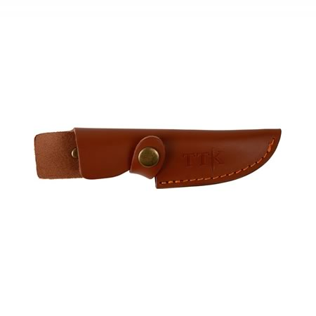 Hunting Skinning Knife With Leather Pouch