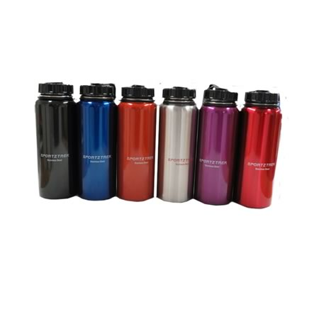 1L Wide Mouth Stainless Steel Water Bottle