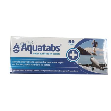 50 1L Water Purification Tablets
