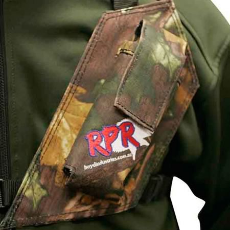 Single Camo GPS UHF Radio Holster