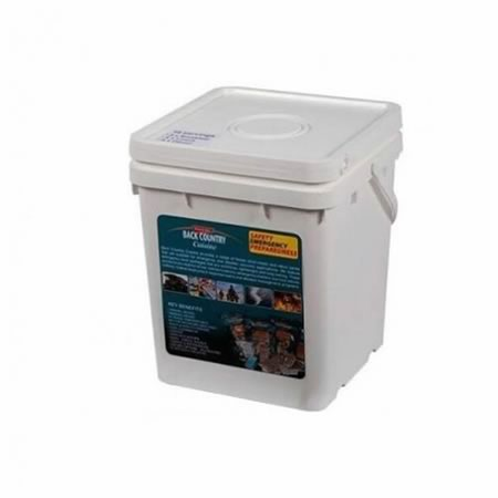 Back Country Cuisine Emergency Bucket 18 x Long Life Freeze Dried Meals