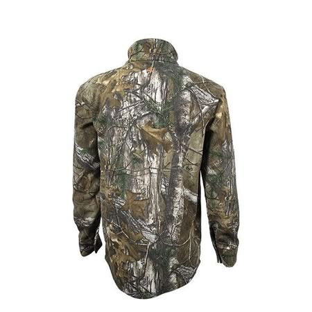 Spika Highpoint - Windproof Water Resistant Heatfleece Camo jumper - S to 5xl