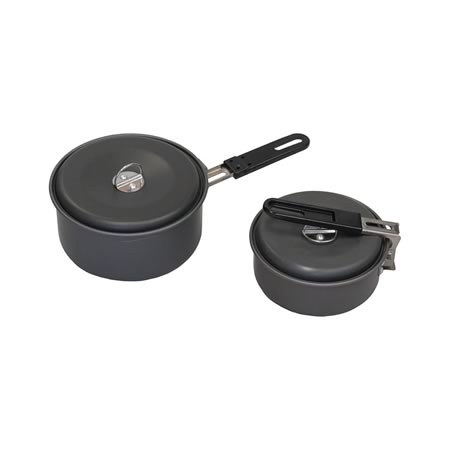 4pc 2 Pot Cook Set
