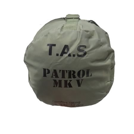 Patrol Olive Military Sleeping Bag - 12 Degrees