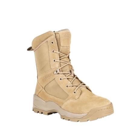 ATAC Side Zip 8 Inch ARID 2.0 Coyote Boots