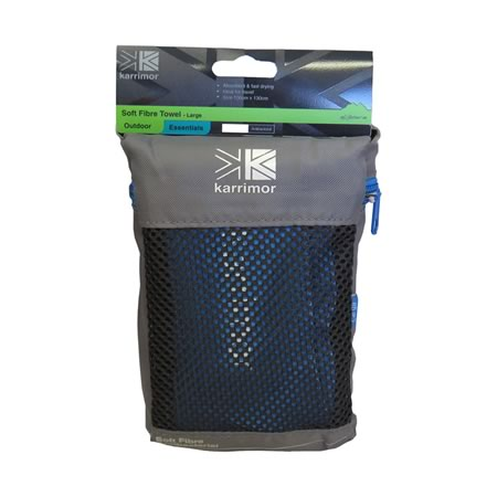 Karrimor Blue Travel Towel