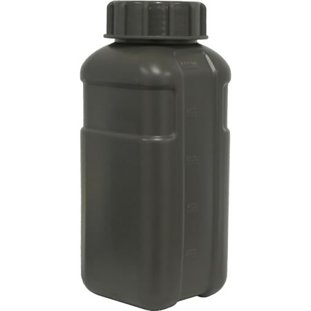TAS 1 Litre Military Flask Olive - 2 pack