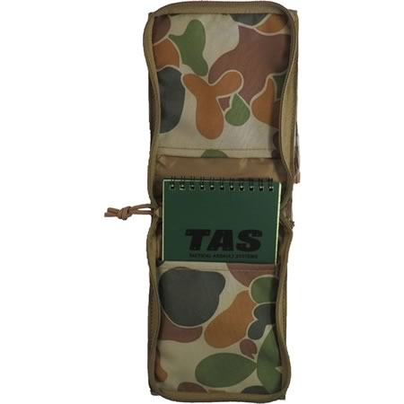 TAS Military Notebook Cover + 50page Waterproof Notebook