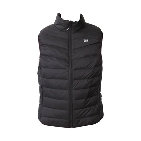 Urban Black Down Vest