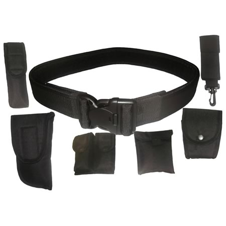 TAS Security Tactical Belt and Pouuches