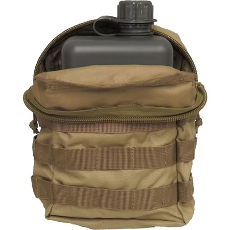 TAS 2L South African Canteen + Khaki Pouch Combo
