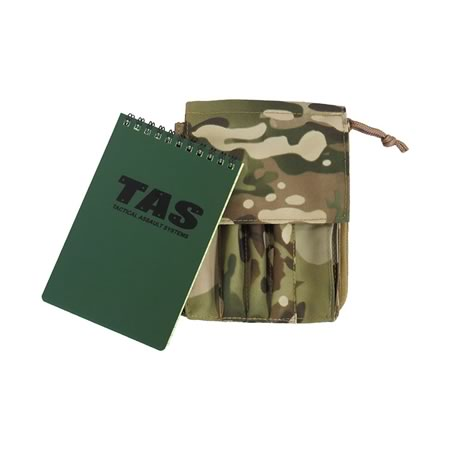 Military Notebook Cover + 50page Waterproof Notebook