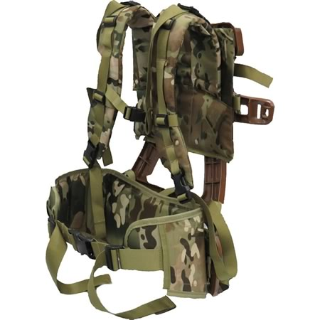 Alice Composite Frame with Yoke Harness and Deluxe Hip Belt Multicam Combo