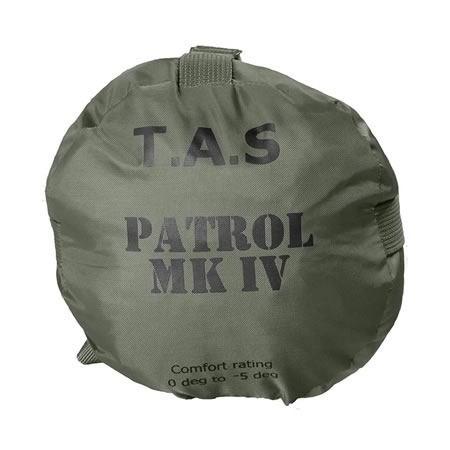 Military Patrol - 5 Degree Sleeping Bag with Mozzie Net