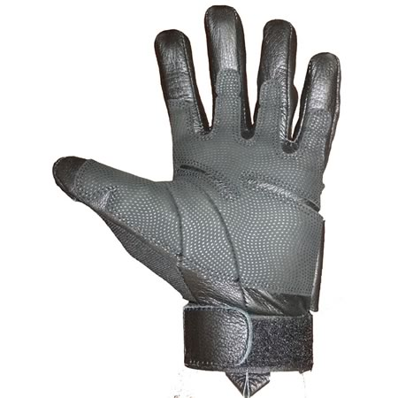TAS Black Lightweight Tactical Gloves