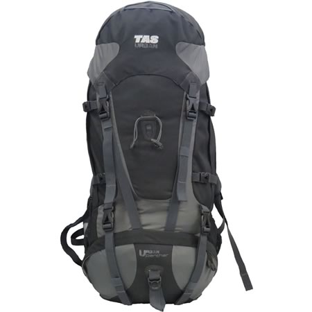 Urban Panther Black Hiking Pack 60+10L