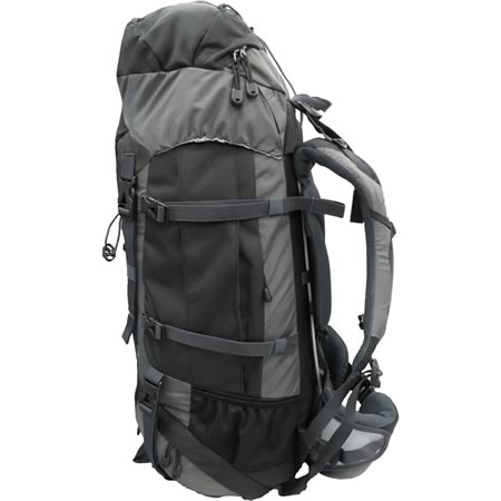 TAS Urban Panther Black Hiking Pack 60+10L