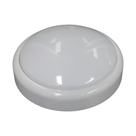 White Round Push Light