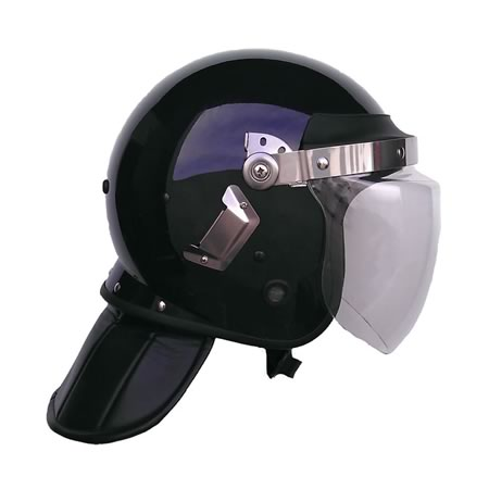 Riot Helmet with Neck Protection and Face Shield