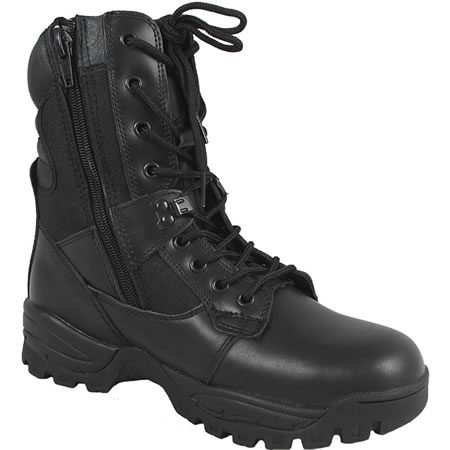 Black Tactical Elite Security Boot
