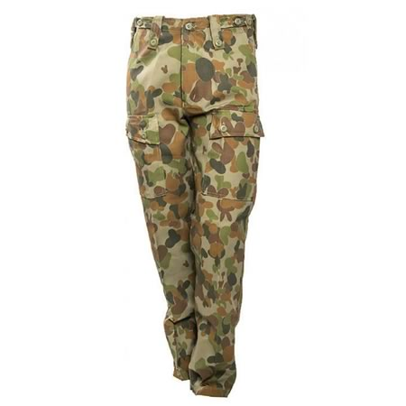 Kids Auscam Military Trousers