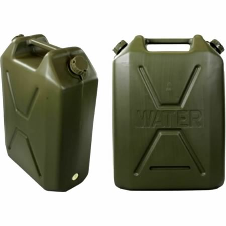 22L Olive Green Water Jerry Can