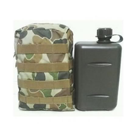 2 Litre SA Water Bottle and Pouch Combo